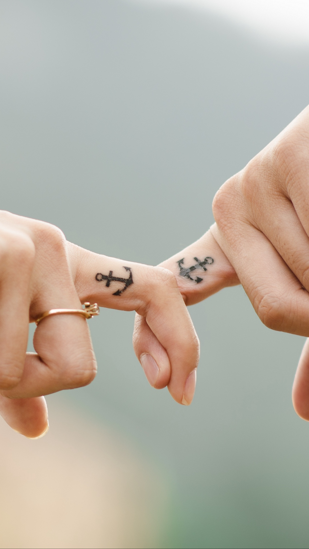 anchor tattoos for couples